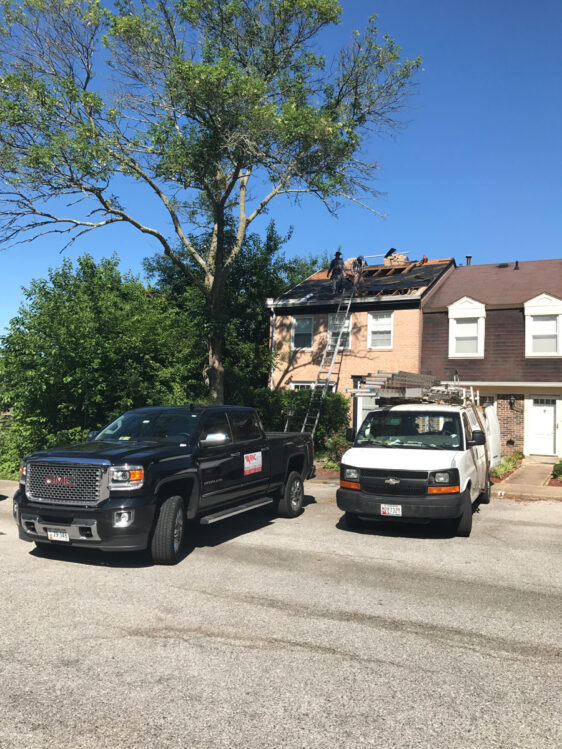 Roofing Project, RNC Construction, VA