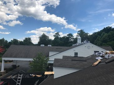 Roofing Project, RNC Construction Group, Alexandria VA