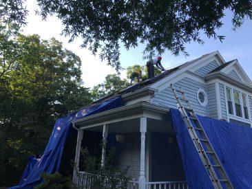 Roofing Project, RNC Construction, Blacksburg VA