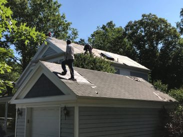 Roofing Project, RNC Construction, Portsmouth VA