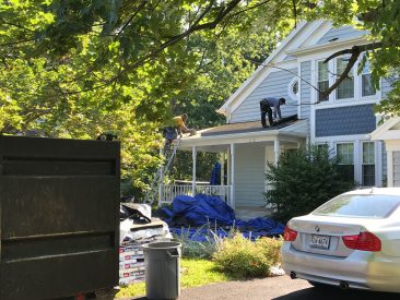 Roofing Project, RNC Construction, Charlottesville VA