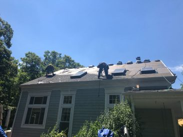 Roofing Project, RNC Construction Group, VA