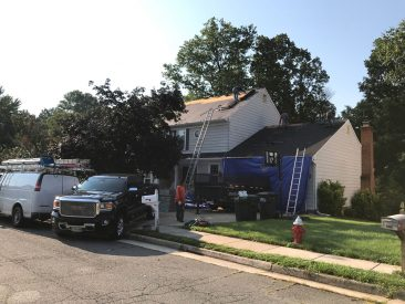 Roofing Project, RNC Construction, Fairfax VA