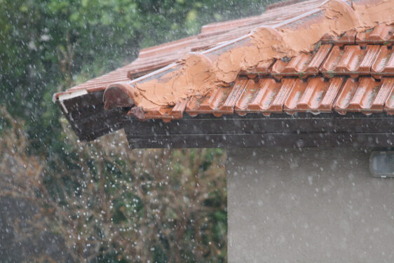 Spring rain and roof leaks, RNC Construction, VA