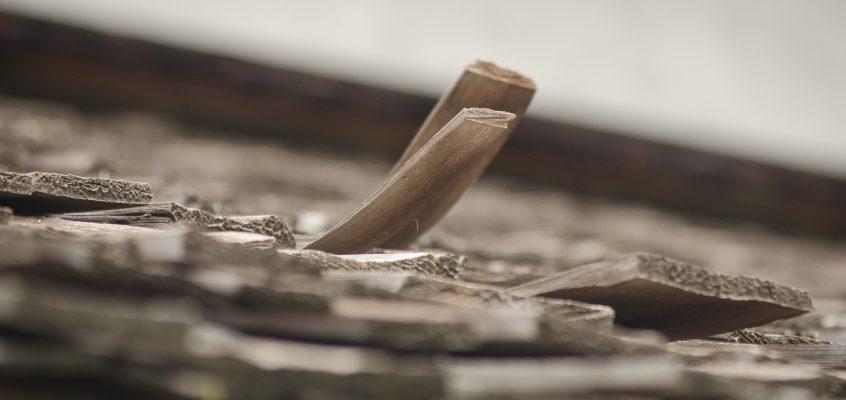 curling shingles