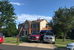 Roofing Project, RNC Construction, Arlington VA
