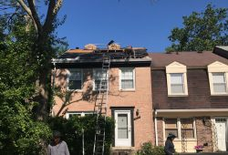 Roofing Project, RNC Construction, Leonardtown MD